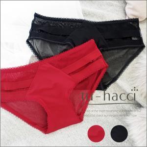 ショーツ パンツ パンティ サイドラインフルバックショーツ2color レッド/ブラック  ショーツ単品  tu-hacci|tu-hacci