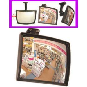 【SA-49307】 屋内用防犯カメラ 高感度CCDカメラ内蔵ミラー型|tu-han-net