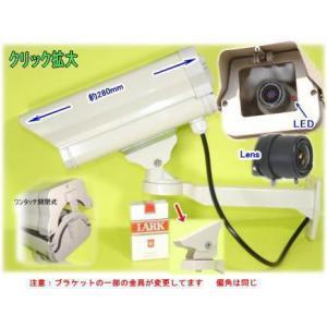 【SA-4000D PRO(49329)】 防犯カメラ・監視カメラ 屋外防雨仕様ダミーカメラ LED長期点滅式|tu-han-net