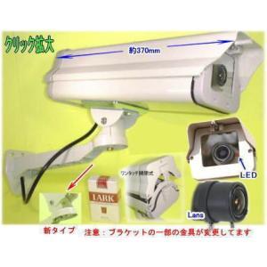 防犯カメラ・監視カメラ 屋外防雨仕様ダミーカメラ LED長期点滅式 【SA-5000D PRO(49331)】|tu-han-net