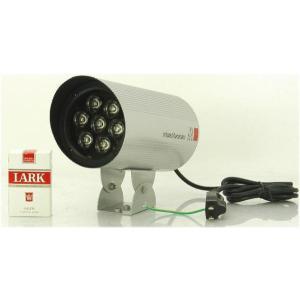 【SA-49427】 防犯カメラ・監視カメラ用 屋外防雨仕様(IP66) 赤外線照射器 AC100V 840nmLED 照射角度約25度|tu-han-net