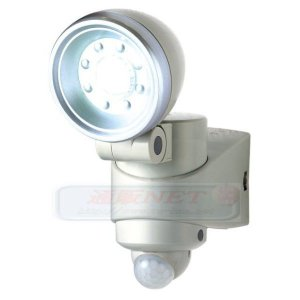 【SA-49918】 屋外防雨 LEDセンサーライト 赤外線センサー機能 電池無しタイプ|tu-han-net