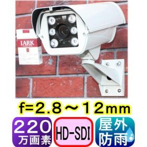 【SA-50507】防犯カメラ・監視カメラ 220万画素HD-SDI信号&CVBS(アナログ)信号 2信号同時出力  f=2.8〜12mm(画角:水平95〜20度)|tu-han-net