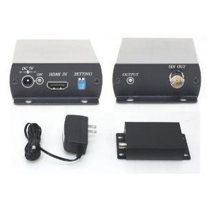 【SA-50640】 HDMI→HD-SDI x1 コンバーター 映像信号変換機 フルHD(1080p)対応 SDI02|tu-han-net