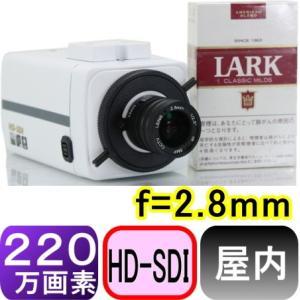 【SA-50783】HD-SDI210万画素2.1メガピクセル屋内用カメラ f=2.8mm +3メガピクセルレンズ付 画角:水平約95度 垂直約71度|tu-han-net