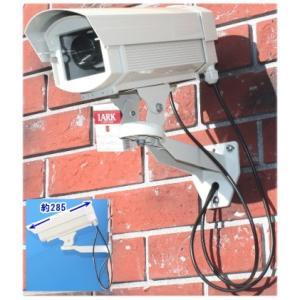 SA-50846 高級ダミーカメラ /屋外防雨仕様 SA-3400D 赤色LED 数年点滅式|tu-han-net