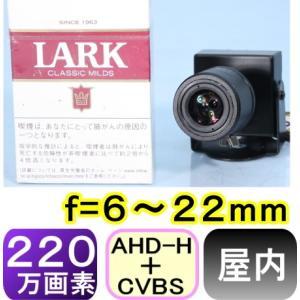 【SA-51022】AHD-H 220万画素防犯カメラ (1200TVL)屋内用ピンホールカメラf=6〜22mm 画角: 水平約34〜15度|tu-han-net