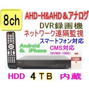 【SA-51068】8CH AHD-H&AHD&CVBSアナログ対応 DVR録画機 (1080p時:12fps/ch または 720p&アナログCVBS(960H)時:25fps/ch) (HDD4TBタイプ)|tu-han-net