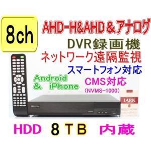 【SA-51069】8CH AHD-H&AHD&CVBSアナログ対応 DVR録画機 (1080p時:12fps/ch または 720p&アナログCVBS(960H)時:25fps/ch) (HDD8TBタイプ)|tu-han-net