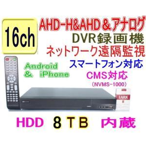 【SA-51073】AHD-H&AHD&アナログ 16ch最高解像度1080p(1920x1080pixel)12fps/ch (HDD8TBタイプ)|tu-han-net