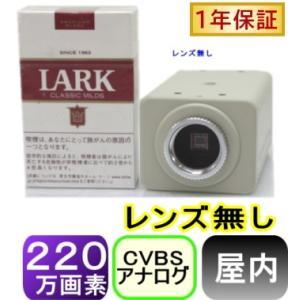 【SA-51094】 220万画素1200TVL 屋内用高画質カラーカメラ レンズ無し|tu-han-net