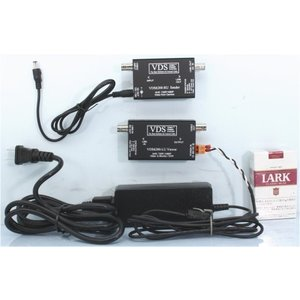 【SA-51166】(AHD-H.AHD対応)防犯カメラ用ワンケーブルシステムセット(工事の簡略化)(VDS6200-RU/VDS6200-LU/ACアダプターの3点セット)|tu-han-net