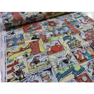ディズニー チップ&デール コミック柄 カラー シーチング生地 安い おしゃれ 布地 かわいい|tubameya