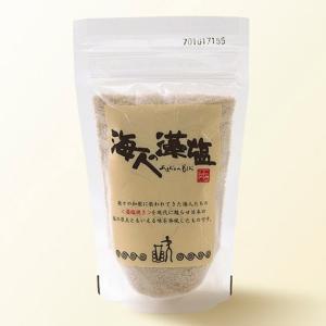 海人の藻塩 スタンドパック 100g 食塩 あまびとのもしお|tucano