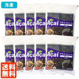 送料無料・10袋セット フルッタ アサイー 冷凍パルプ ピューレ (100g×4袋入)×10セット 冷凍|tucano