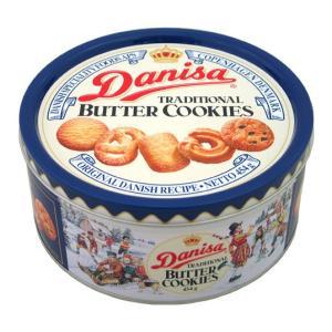 やおきん ダニサ バタークッキー 454g 缶入り Danisa TRADITIONAL BUTTER COOKIES|tucano