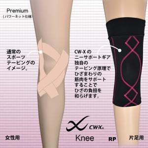 CW-X パーツ Knee BCY304 女性用 ひざ用サポーター プレミアム パワーネット仕様|tudaya|04