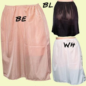 Pretty Mix  ペチコート 45丈シンプル 503945 透け防止対策に、スカートのインナーに。|tudaya