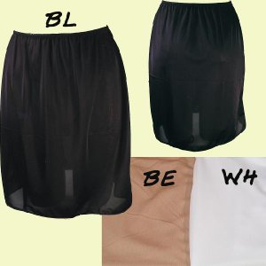 Pretty Mix ペチコート 50丈シンプル 503950 透け防止対策に、スカートのインナーに。|tudaya