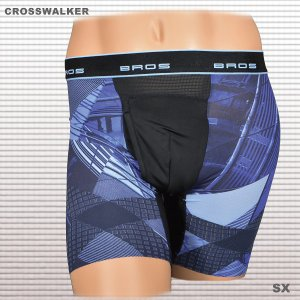 メンズワコール GX6006 ブロスBROS クロスウォーカー・ジャストウェスト ダブルエアスルー 前開きタイプ(紳士用インナー)WEB限定25%OFF tudaya 08