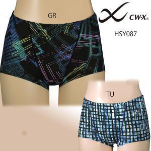 ワコール スポーツショーツ女性用 CW−X  WOMEN'S  HSY087 TU/GR|tudaya