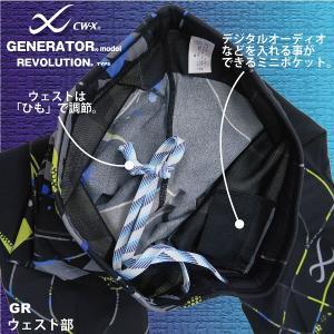 ワコール CW−X メンズ ジェネレーターモデル レボリューションタイプ ロング スポーツタイツ HZO659 男性用|tudaya|07
