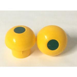 ☆在庫品、即日出荷☆アラオ キャッピカ 黄色 反射シール付 単管キャップ・鉄筋キャップ兼用型 48....