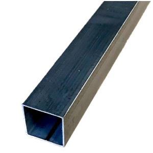 鉄 スチール 角パイプ 厚さ1.6ミリ×21ミリ×21ミリ 長さ0.5m 重さ約0.5kg 生地(無塗装) ※鉄の四角いパイプです。 tugiteyasan