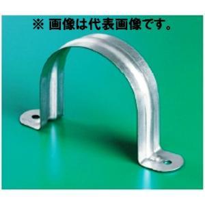 溶融亜鉛メッキ鋼板製 サドルバンド(ビス穴) 40A SBN40 鉄サドルバンド