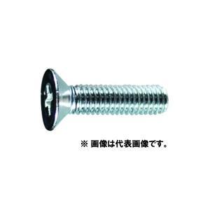 【メール便可】 皿頭小ねじ (鉄/ユニクローム)全ねじ M8×25 P1.25 (+)