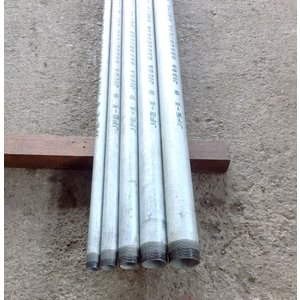 白ガス管 JFE-SGP 両ネジ加工 15A(1/2B) 2m(2000mm)以下 ※こちらの商品は送料¥2000です。(¥10,000未満の場合)※大型宅配便、別途個人宅配費必要|tugiteyasan