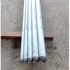 白ガス管 JFE-SGP オーダーサイズ(お好きな長さで加工します。)両ネジ加工  20A(3/4B) 1m(1000mm)以下 (鉄管、配管パイプ、亜鉛メッキ鋼管、白管)|tugiteyasan
