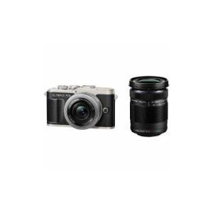 OLYMPUS デジタル一眼カメラ「OLYMPUS PEN E-PL9」EZダブルズームキット ブラック PEN-E-PL9-EZ|tuhan-station