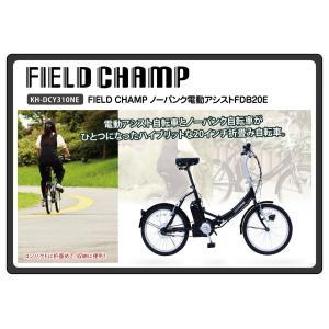 FIELD CHAMP ノーパンク電動アシストFDB20E / 20インチ折畳自転車 tuhan-station