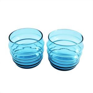 マリメッコ marimekko 063942 700 SUKAT MAKKARALLA TUMBLER 2pcs  ペアタンブラー カラーグラス 2個|tuhan-station