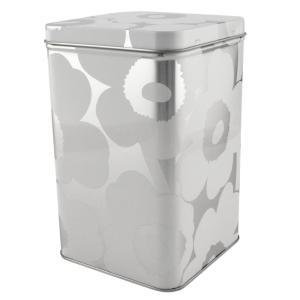 マリメッコ marimekko 070067 910 ブリキ缶 小物入れ UNIKKO TIN BOX|tuhan-station