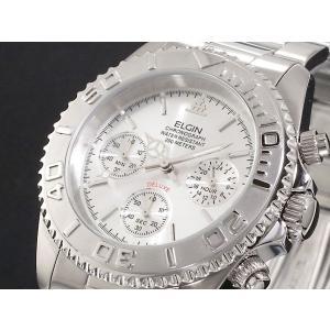 エルジン ELGIN クロノグラフ 腕時計 FK1120S-N|tuhan-station