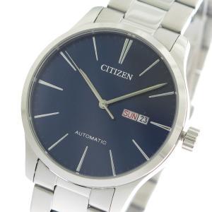 シチズン CITIZEN 自動巻き メンズ 腕時計 NH8350-83L ネイビー/シルバー ネイビー|tuhan-station