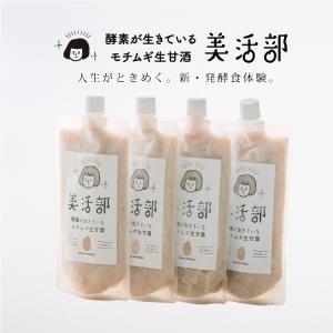 酵素が生きているモチムギ生甘酒 美活部 tukeru-shopping