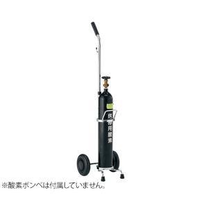 酸素ボンベ車(500L用) アズワン aso 0-3333-11 医療・研究用機器|tukishimado5