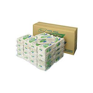 ato5438-6303  ニューズペーパータオル 業務用パック 200枚×30パック 1箱(30パック入) 春日製紙工業 K-N200X|tukishimado5