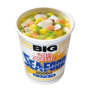 ato6385-6309  #日清 カップヌードル シーフードビッグ 12個 日清食品 BCH|tukishimado5