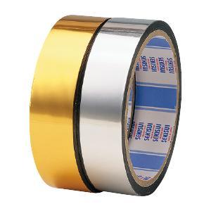 法人様限定商品 シャインテープ24mm×30m 銀 ed119008