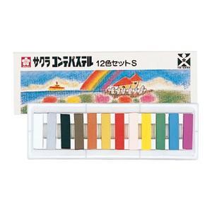 ●教育施設様限定商品 コンテパステル12色(短寸)  ed 131805 tukishimado