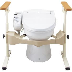 洋式トイレ用フレームSUS-はねあげR-2専用スペーサー アロン化成 533-071  D21579  JAN 4970210847022 介護用品 tukishimado