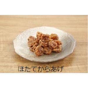 かくちょう ほたてからあげ 甘辛たれ 135g 北海道 青森産 おやつ おつまみ お茶うけ ご飯のおとも|tukudani