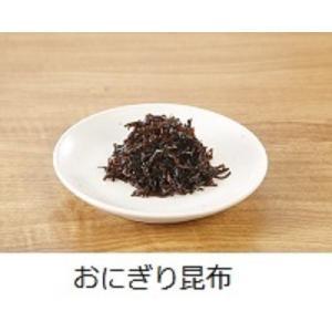 おにぎり昆布 つくだ煮  昆布の佃煮 無添加 ゴマ入り 北海道産 甘め|tukudani