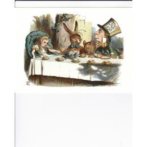 不思議の国のアリス  英国製絵葉書 お茶会|tuliphouse