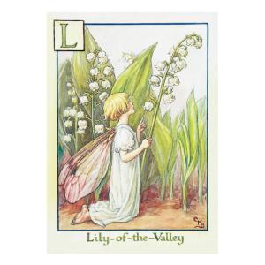 フラワーフェアリーズ   ポストカード<Lily-Of-theValle Fairy>FF-027|tuliphouse