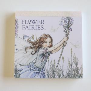 フラワーフェアリーズ メモパッド・スクエア<Lavender_blue>FF-103|tuliphouse